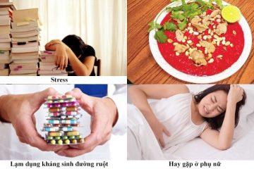 Nguyên nhân gây viêm đại tràng co thắt